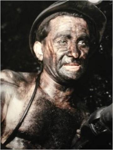 Gueule noire - mineur - charbon