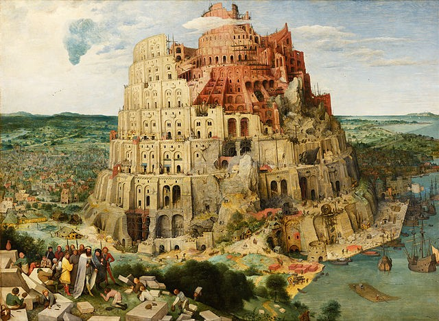 Pierre Bruegel L'Ancien - La Tour de Babel