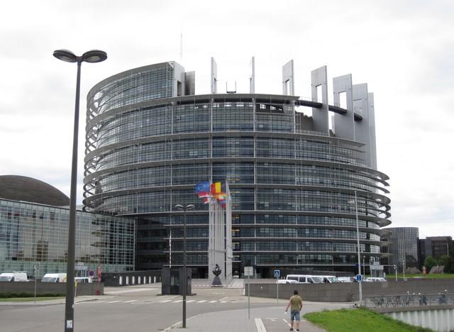 Strasbourg - Parlement européen - Tour de Babel