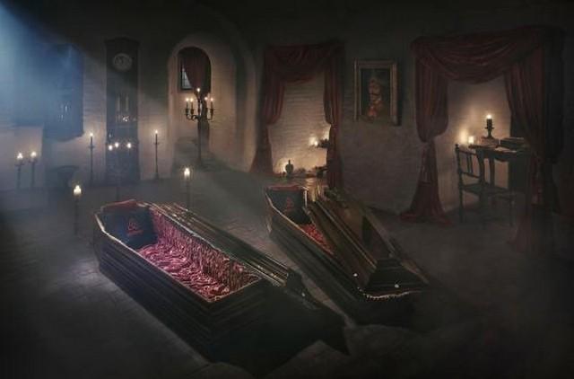 Cercueil - Vampire