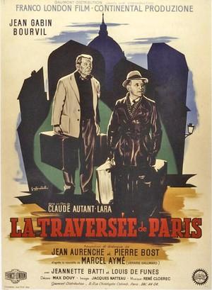 Film Traversée Paris - Claude Autant-Lara