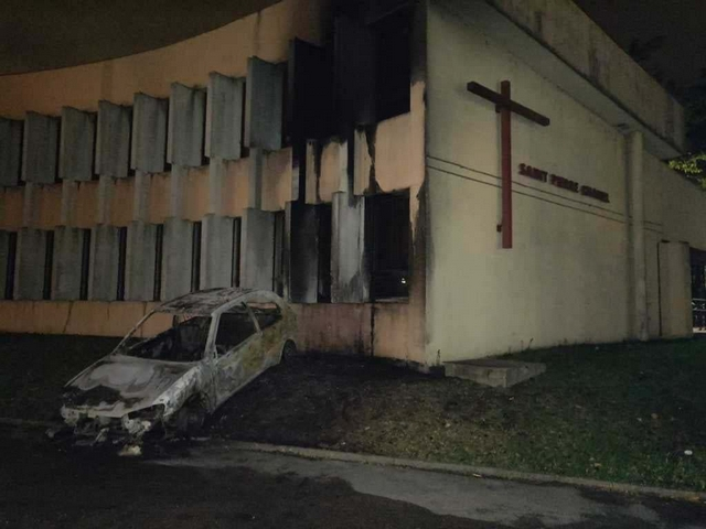 Incendie église Rilleux-la-Pape