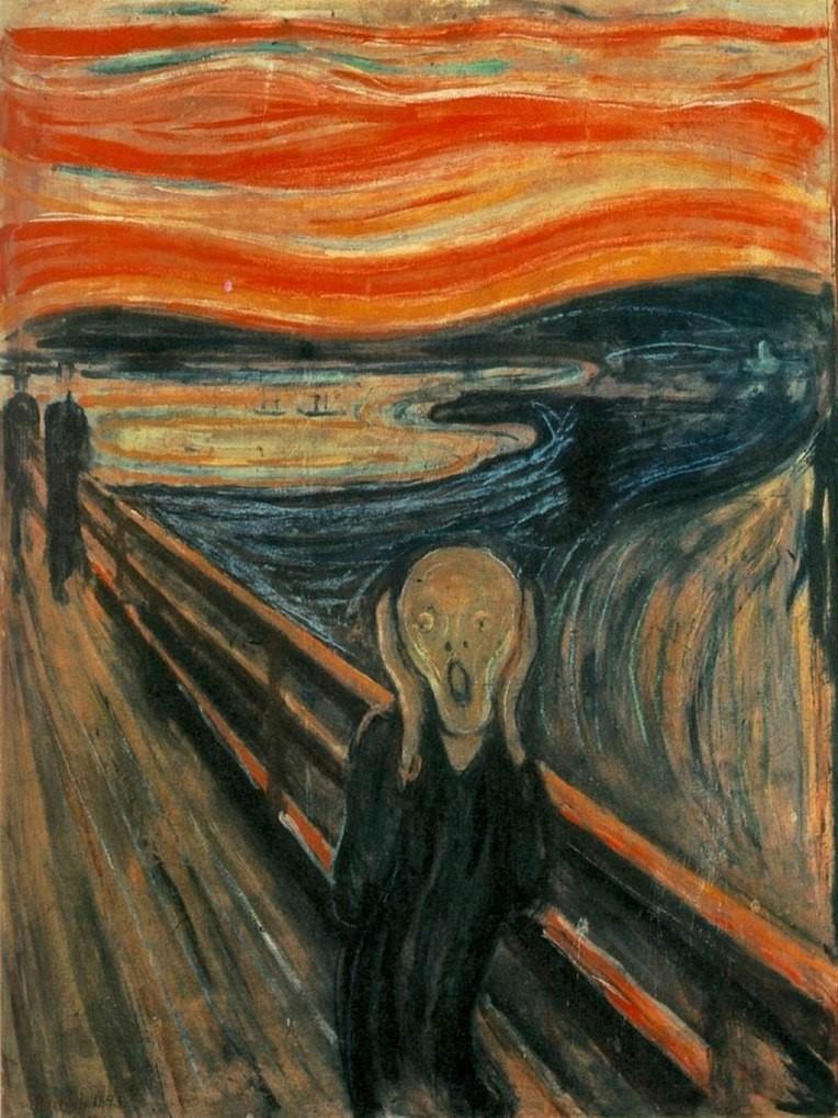 Le cri - Edvard Munch - 1893