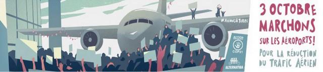 Marche aéroport Nice - 3 octobre 2020