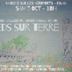 Marche sur l'aéroport de Nice samedi 3 octobre 2020