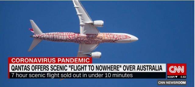 Qantas - Spirit of Australia - Flight to nowhere