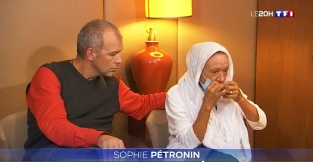 Sophie Pétronin et son fils