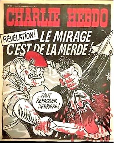 Charlie Hebdo 1974 n°208 - Couverture Cabu - paras