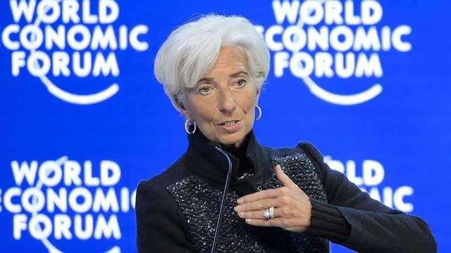 Christine Lagarde - Forum Économique Mondial