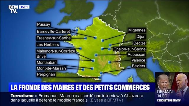 Confinement - Fronde maires - 31 octobre 2020