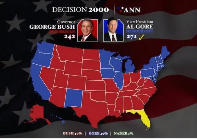 Fraude électorale États-Unis - Al Gore - Bush