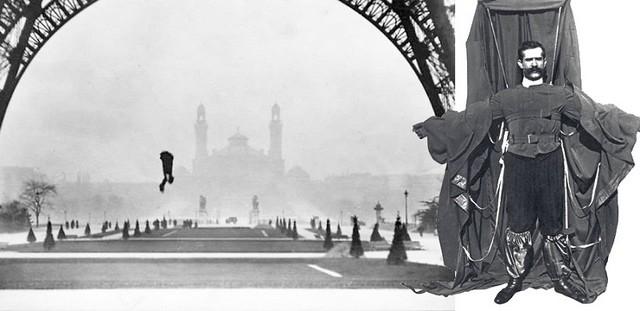 Henri-François Reichelt - saut tour Eiffel