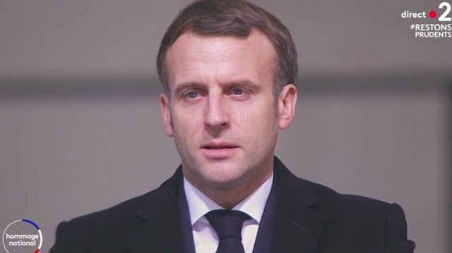 Macron - comédie hommage Daniel Cordier - 26 novembre 2020 (2)