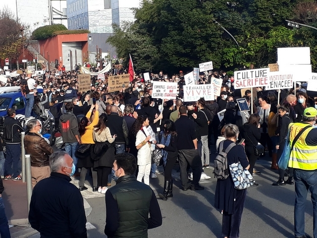 Nice - 14 novembre 2020 - Manifestation anti-confinement