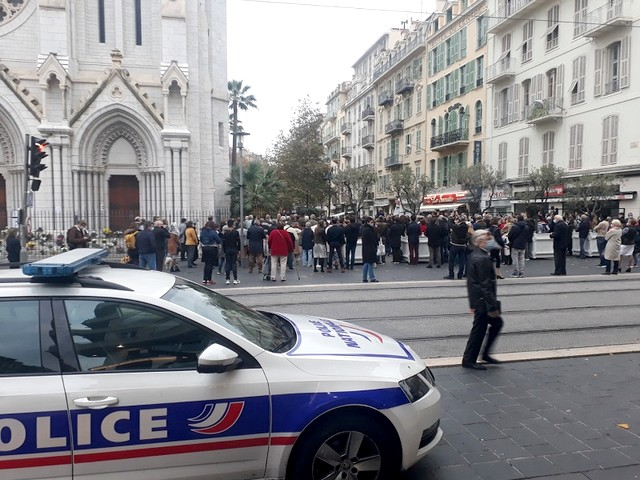 Nice Basilique Notre Dame - AFC - messe - 15 novembre 2020