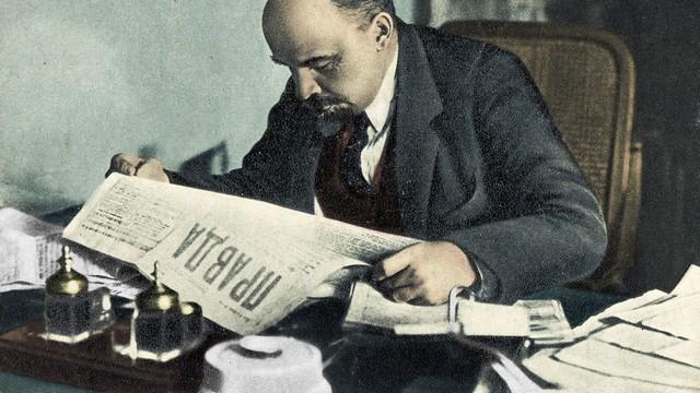 Pravda Lénine
