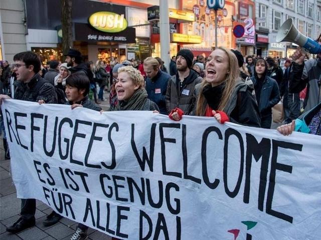 Welcome regugees - Genug - Autriche