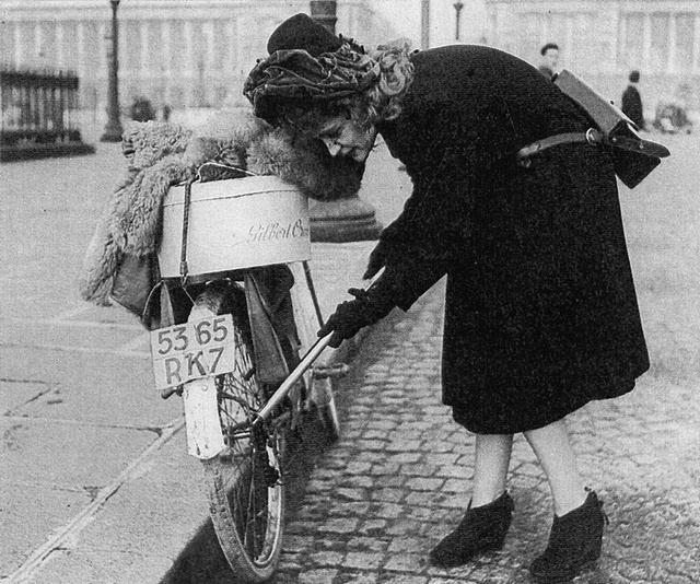 Bicyclette vintage Occupation