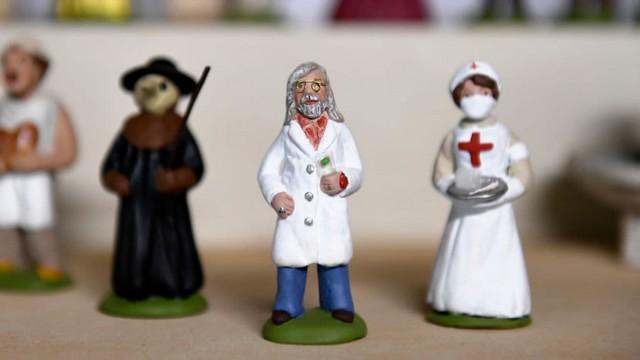 Didier Raoult figurine santon