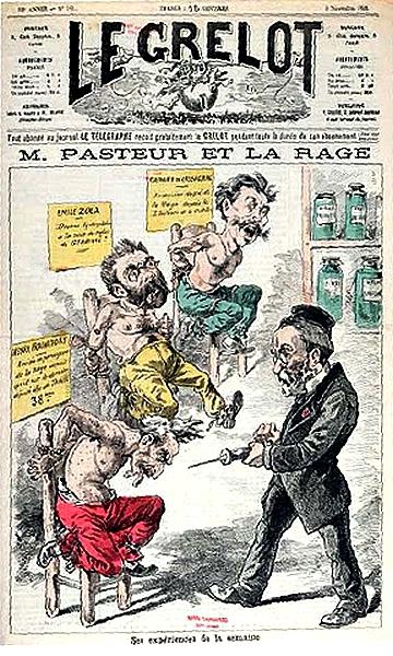 Le Grelot - Pasteur - Rage