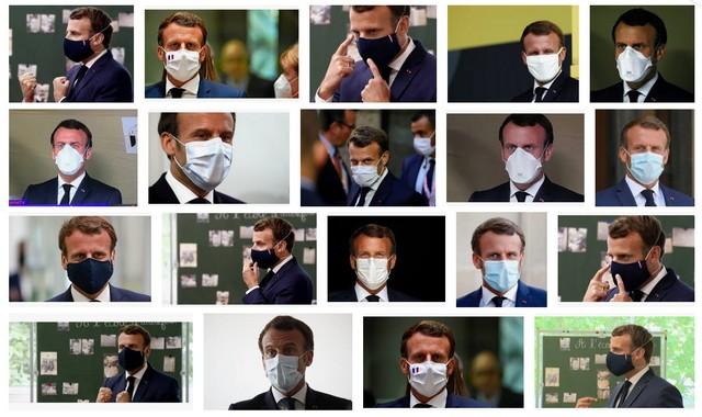 Macron - Masque