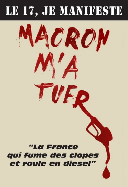 Macron m-a tuer - Béziers