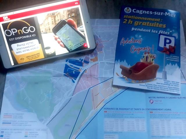 OPnGo - Stationnement Cagnes-sur-Mer