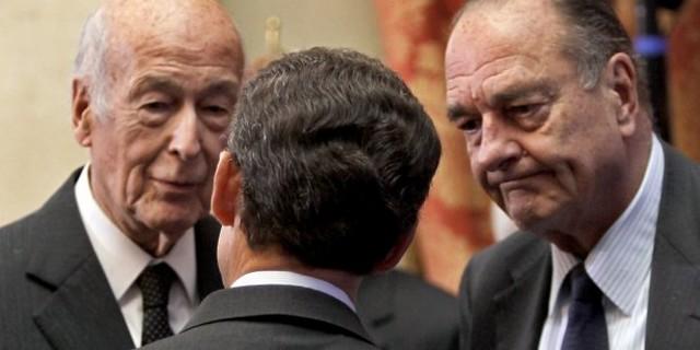 Valéry Giscard Estaing - Jacques Chirac - Nicolas Sarkozy