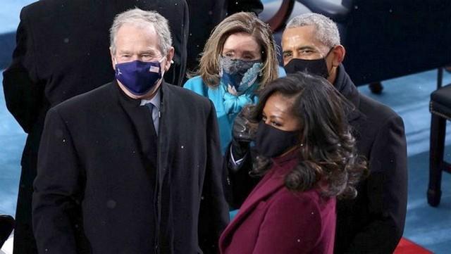 Bush Obama Harris