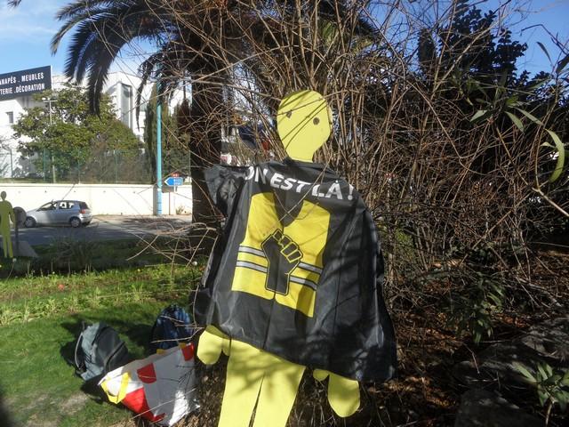 Gilets Jaunes Antibes - 23 janvier 2021