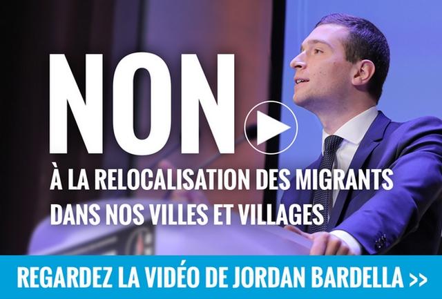 Jordan Bardella - Relocalisation migrants
