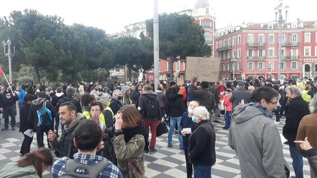 Manifestation Nice 30 janvier 2021 - Loi Sécurité