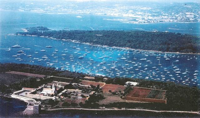 Mouillage Îles Lérins