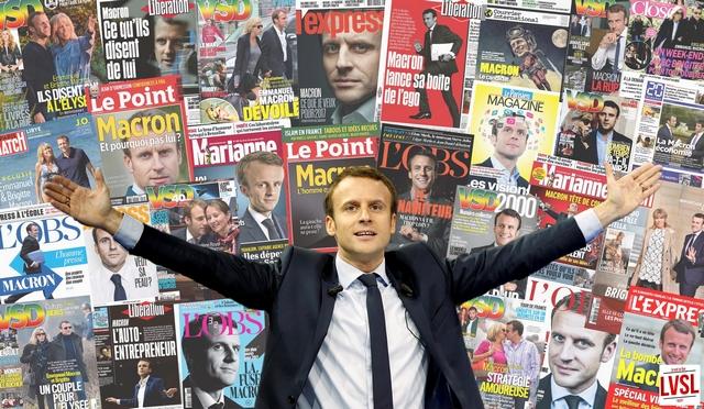 Presse Main stream - Macron