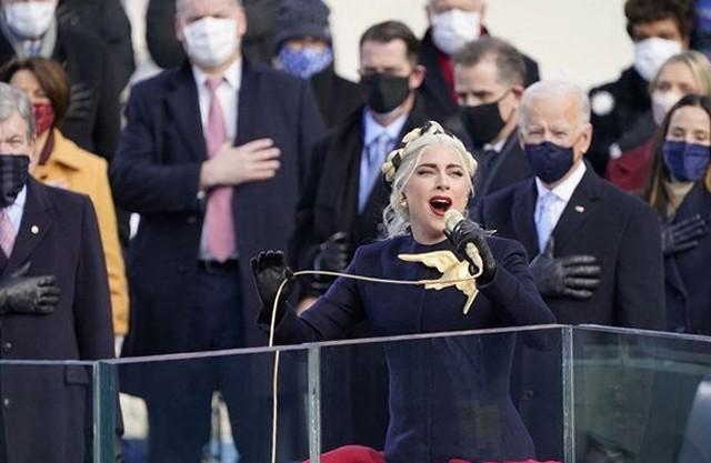 Washington - Intronisation Biden - Lady Gaga