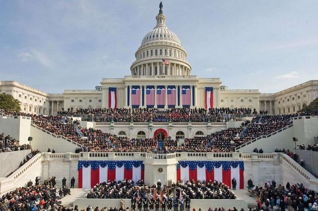 Washington - Intronisation Biden - Tribune