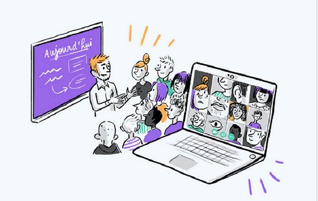 Ecole virtuelle - Visioconférence