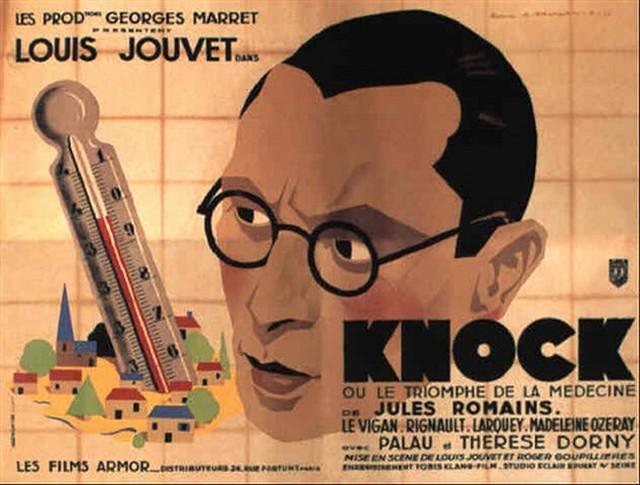 Knock triomphe médecine - Louis Jouvet