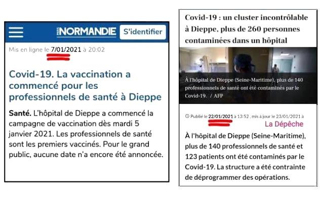 Vaccination - Hôpital Dieppe