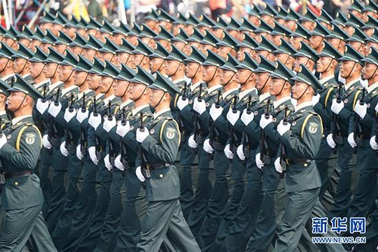 Défilé militaire - Chine