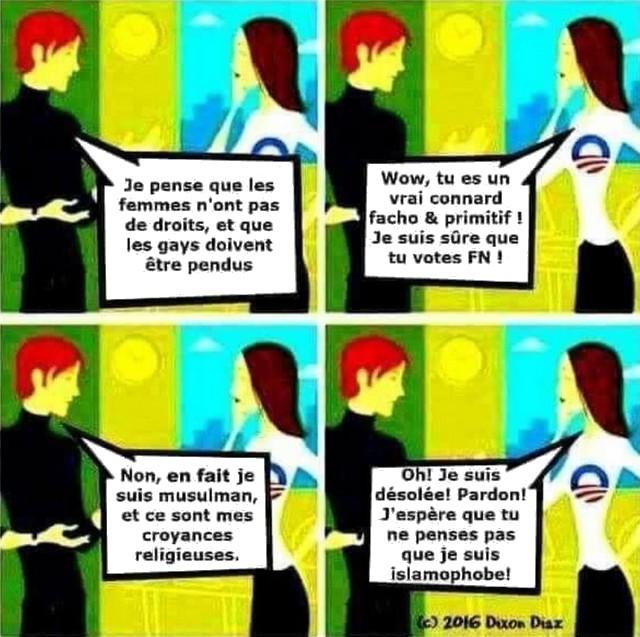 Islam - Féminisme - Islamophobie - Homophobie