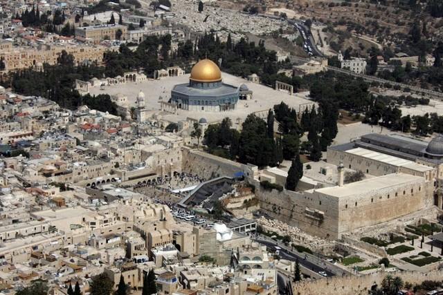 Mosquée dôme doré Jérusalem - Mont Temple