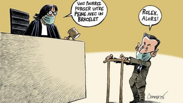 Sarkozy - Rolex - condamnation
