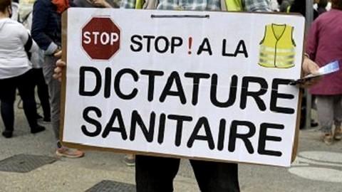 Stop dictature sanitaire - Gilets Jaunes