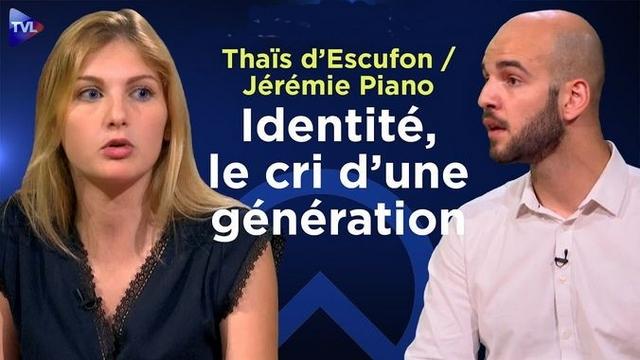 Thaïs d'Escufon - Jérémie Piano - Génération Identitaire