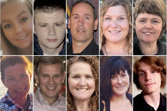 Victimes tuerie Colorado - Mars 2021