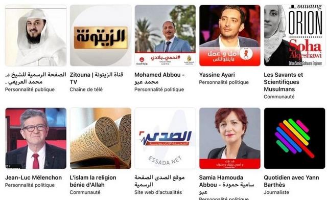 Centres intérêt terroriste islamiste