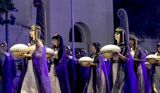 Déplacement sarcophages Le Caire - Pâques 2021