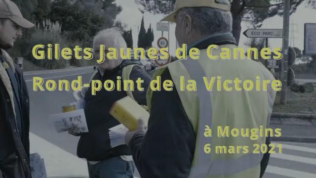 Gilets Jaunes Cannes - 6 mars 2021 - Tuto Service Public Libre