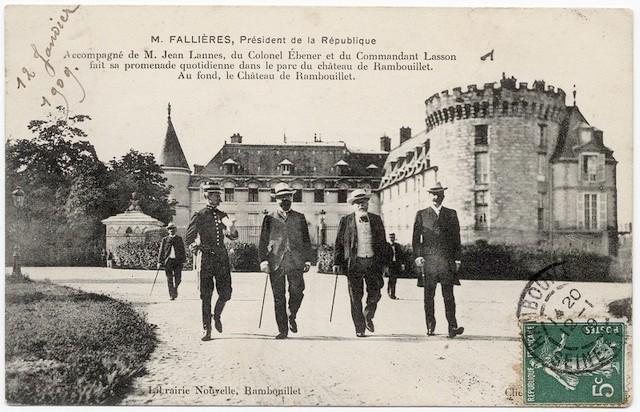 Le_président_de_la_République_à_Rambouillet_au_début_du_XXe